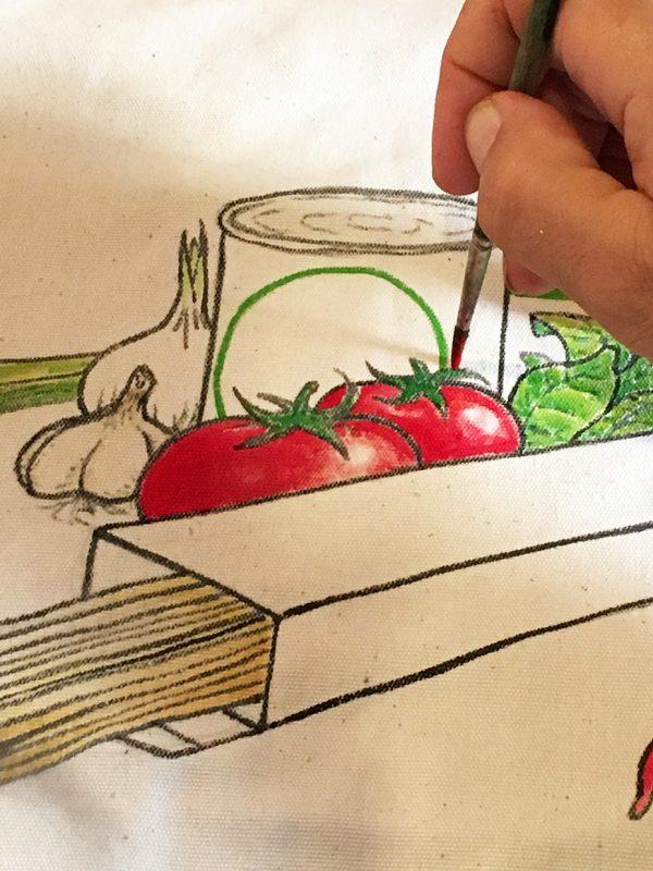 Cucina Italiana bag by Italian Summers detail 2