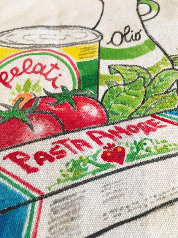 Cucina Italiana bag by Italian Summers detail 4