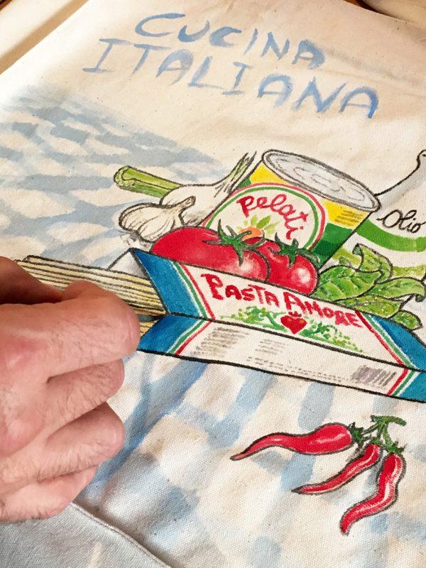 Cucina Italiana bag by Italian Summers detail 5