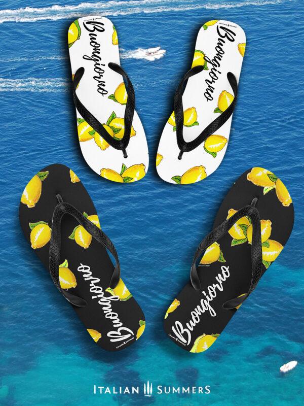 Flip Flops BUONGIORNO LIMONI by Italian Summers
