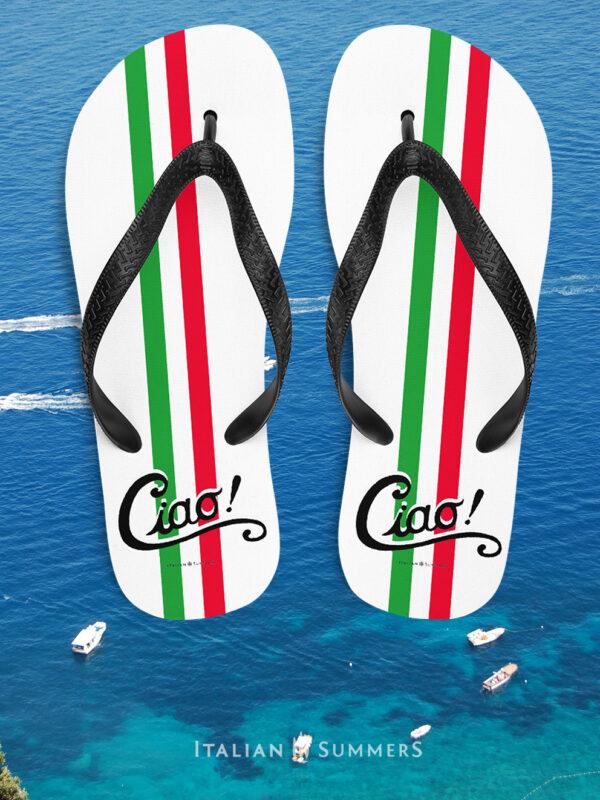 Flip flops CIAO ITALIA by Italian Summers