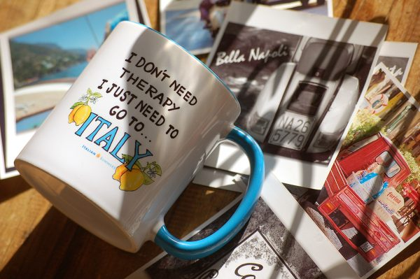 I Don't Need Therapy I just need to go to ITALY MUG by Italian Summers