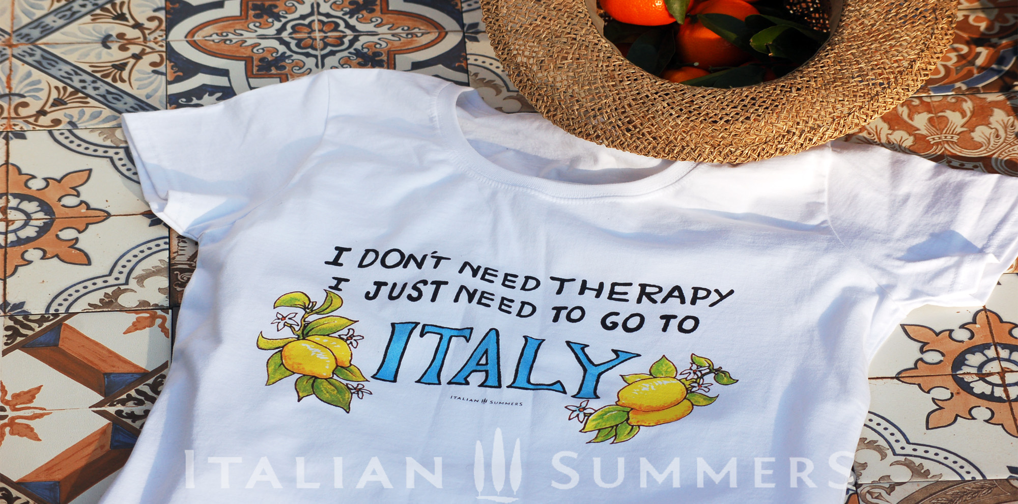 I Don't need therapy I just need ITALY T-shirts by Italian Summers