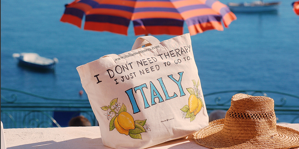 I don't need therapy, I just need to go to Italy by Italian Summers. Copyright. All rights reserved