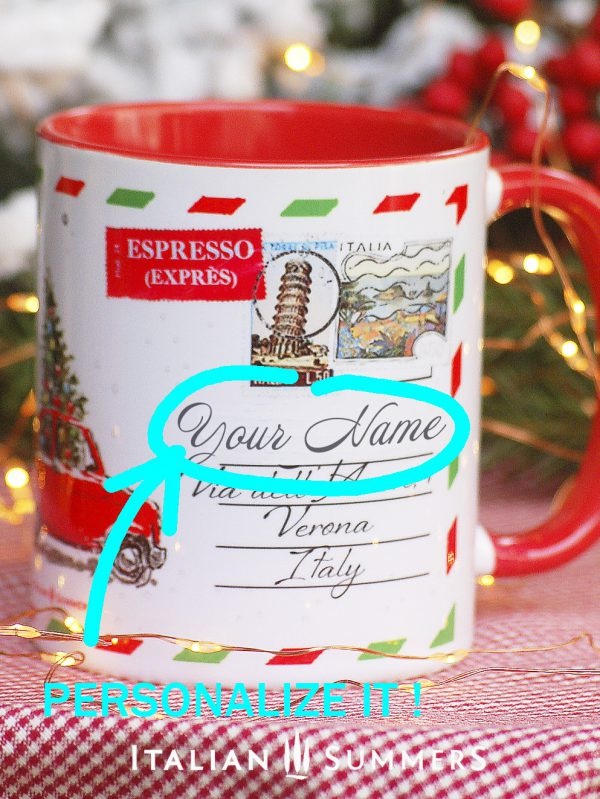 SINGING CATS Italian Christmas coffee mug by Italian Summers , the perfect italian Christmas gift for yourself or every Italy lover. Discover our 2019 Italian Christmas collection