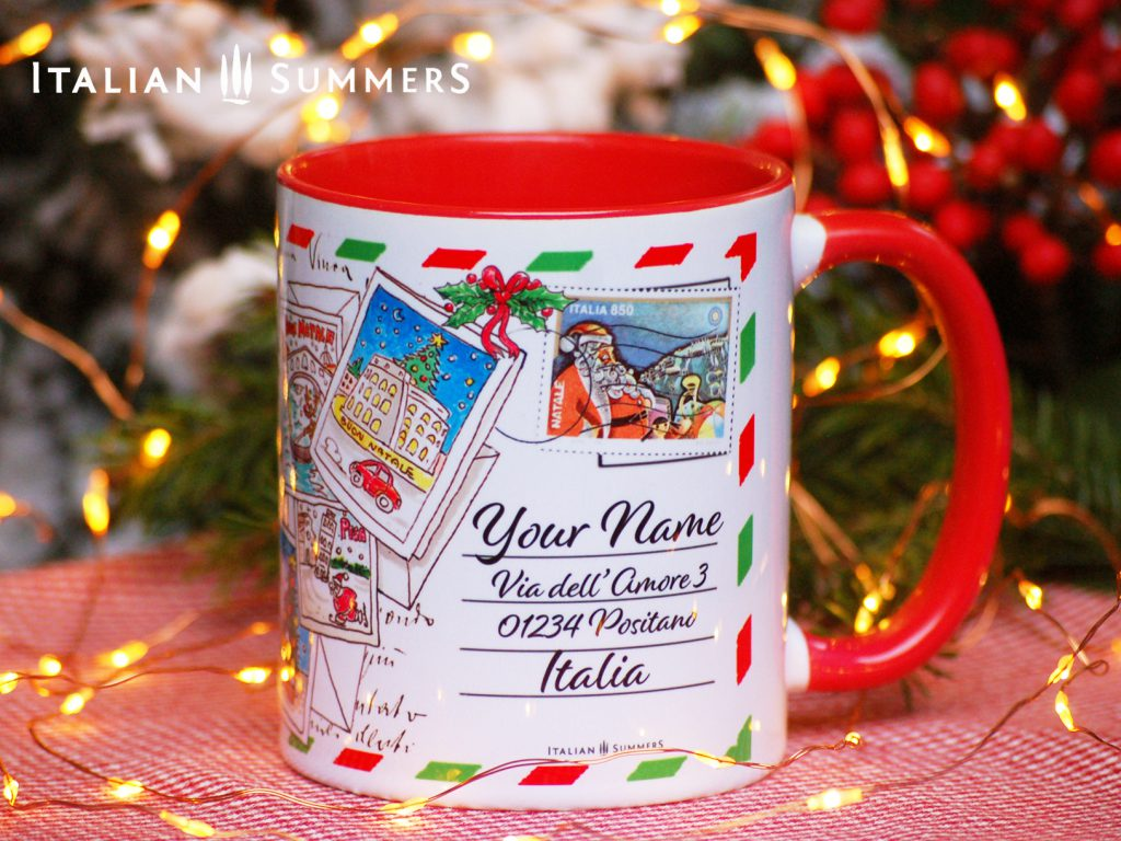 Italian Christmas mug TRIPTO ITALY by Italian Summers