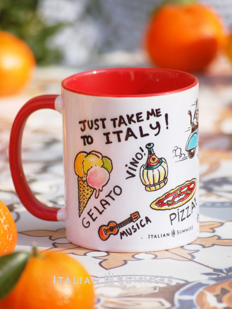 Italian Lifestile, Vita Italiana mug by Italian Summers