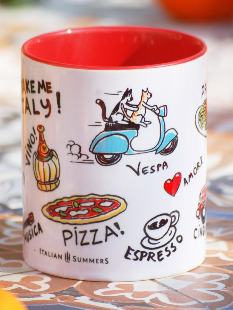 Italian Lifestile mug by Italian Summers