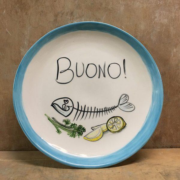 italian-plate-buono-handpainted-ceramic-by-italian-summers