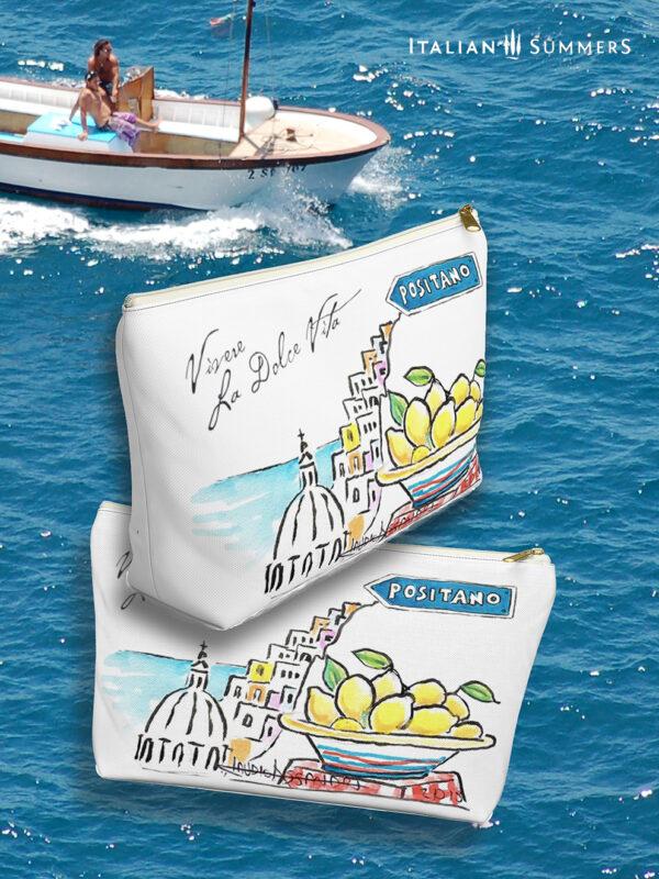Love, Lemons, Positano clutch by Italian Summers