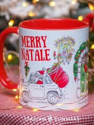 Italian Christmas mug MERRY NATALE by Italian Summers