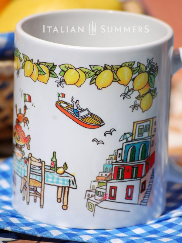 Mug AMALFI COAST by Italian Summers.