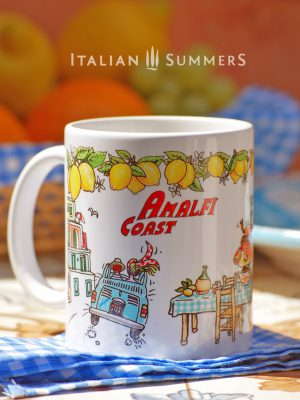 Mug AMALFI COAST by Italian Summers.