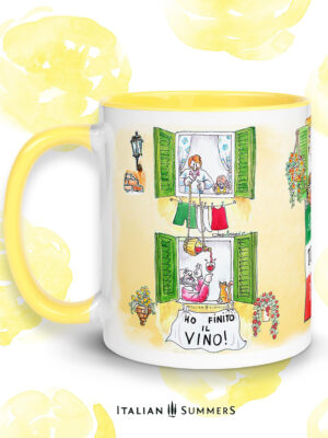 Mug ANDRA TUTTO BENE-Ho finito il vino -by Italian Summers by Italian Summers 992 3