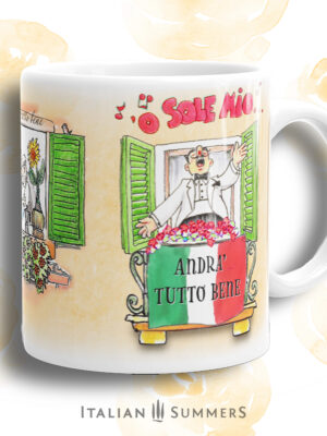 Mug ANDRA TUTTO BENE -o sole mio
