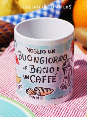 Mug BUONGIORNO by Italian Summers.