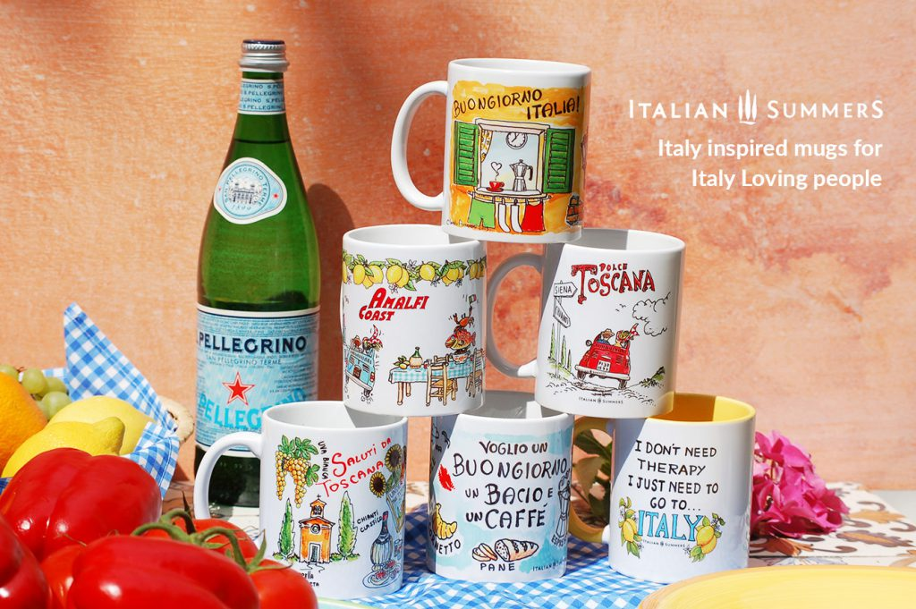 ITALIAN SUMMERS ITALIAN MUGS collection poster 1 by Italian Summers