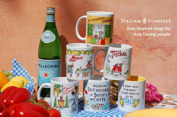 ITALIAN SUMMERS ITALIAN MUGS collection by Italian Summers