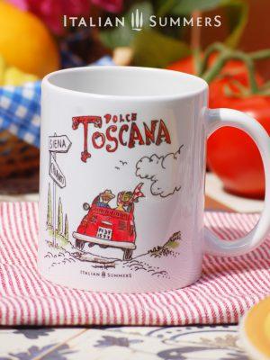 Mug DOLCE TOSCANA by Italian Summers.