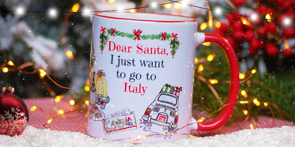 Dear Santa, I just want to go to Italy by Italian Summers