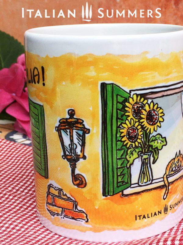 Mug FINESTRE ITALIANE by Italian Summers.