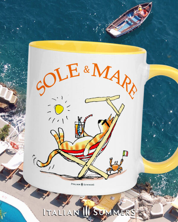 Mug SOLE & MARE by Italian Summers