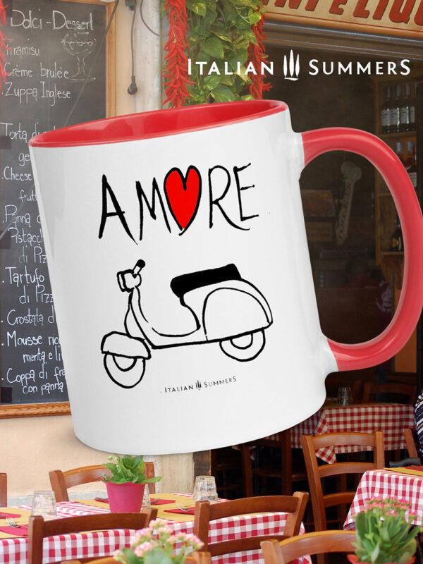 Mug VESPA AMORE by Italian Summers 992