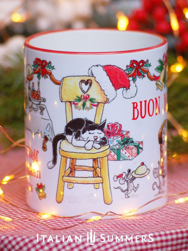 Italian Christmas Mug NIGHT BEFORE CHRISTMAS by Italian Summers