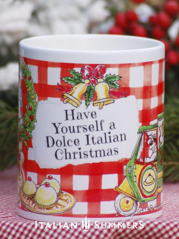 Italian Chrimas Mug PANE E DOLCI by Italian Summers.