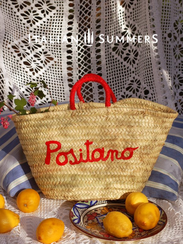 Positano straw Bag by Italian Summers