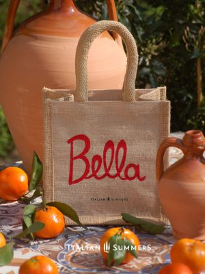 PICCOLA BELLA ITALIA jute bag