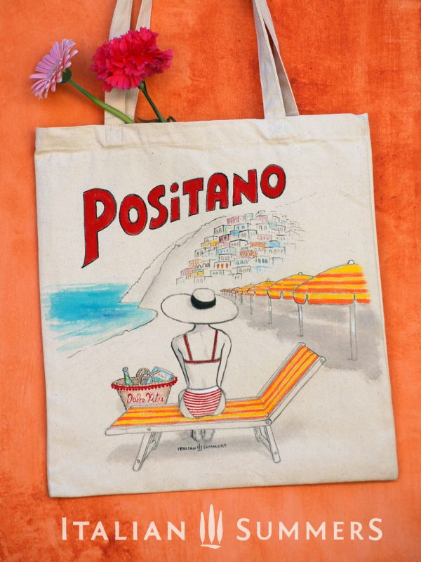 Positano Dolce Vita Tote bag by Italian Summers