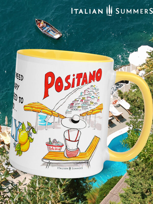Positano therapy mug by Italian Summers