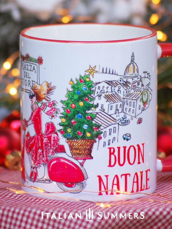 Italian Christmas mug DOLCE DIVA by Italian Summers