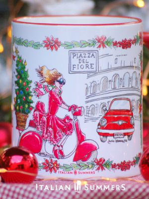Italian Chrimas Mug ROMA by Italian Summers.