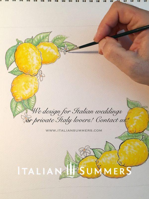 Ravello Amalfi Coast Lemons Tote bag by Italian Summers