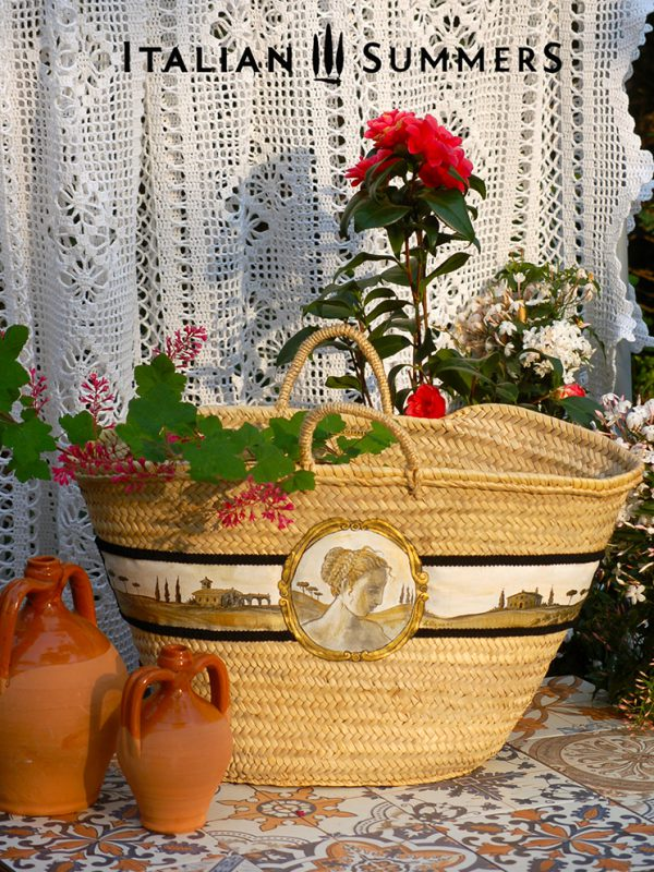 Straw Bag Toscana Large by Italian Summers