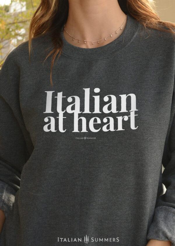Sweatshirt ITALIAN AT HEART by Italian Summers