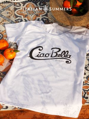 T-SHIRT CIAO BELLA by Italian Summers