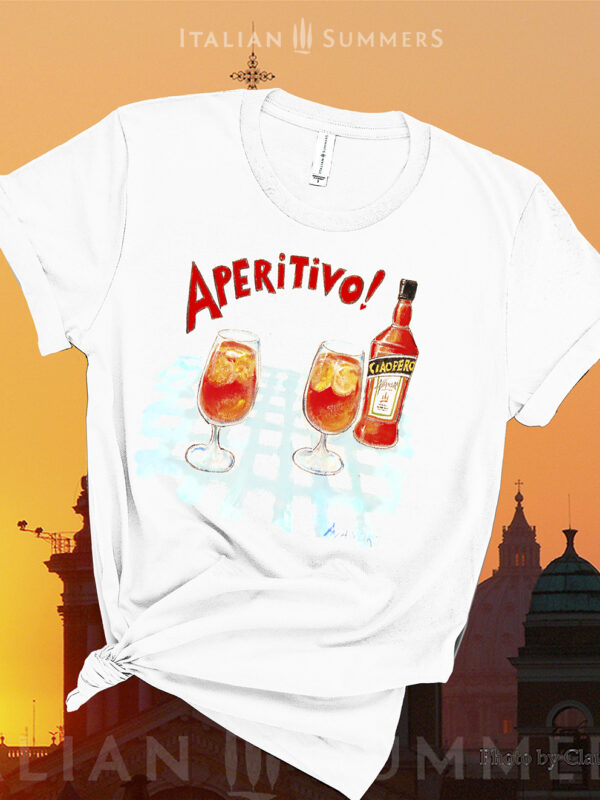 T SHirt APERITIVO by Italian Summers 992