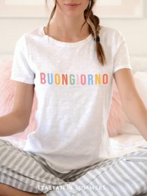 T Shirt BUONGIORNO by Italian Summers