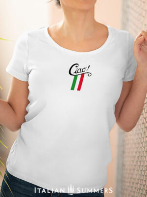 T Shirt CIAO ITALIA by Italian Summers