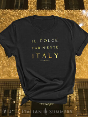T Shirt IL DOCE FAR NIENTE by Italian Summers 2019