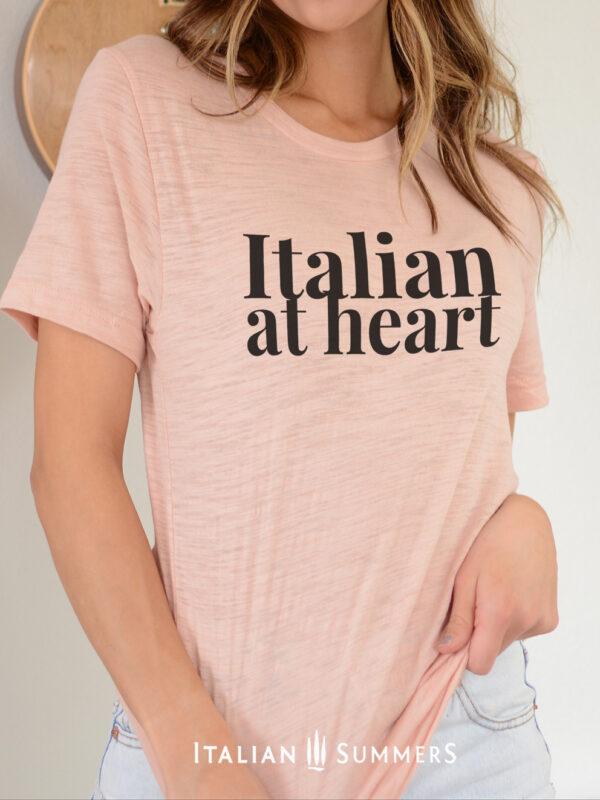 T Shirt ITALIAN AT HEART by Italian Summers 2020:
