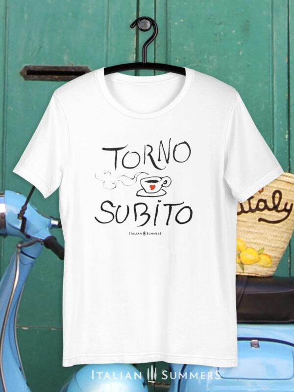 T Shirt TORNO SUBITO BY Italian Summers