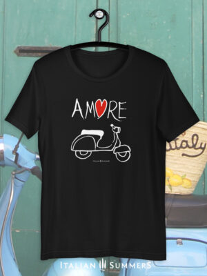 T Shirt VESPA AMORE by Italian Summers