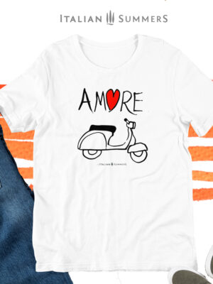 t-Shirt VESPA AMORE by Italian Summers