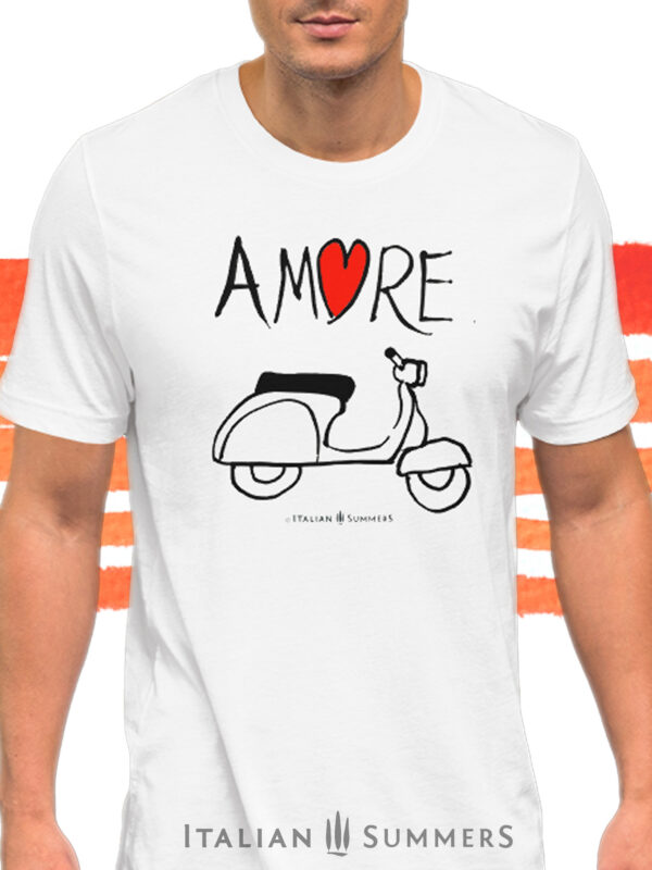 t-Shirt VESPA AMORE by Italian Summers b