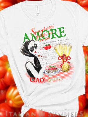 T Shirt VIVA LA PASTA by Italian Summers