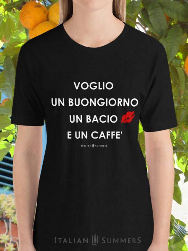 T Shirt-VOGLIO UN BUONGIORNO mkp lady by Italian Summers